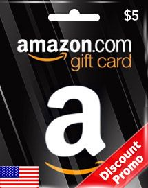 AMAZON Gift Card 5 USD